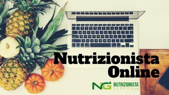 nutrizionista online a distanza - nutrizionista genova